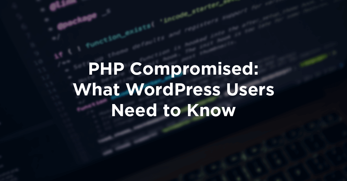 PHP Compromised